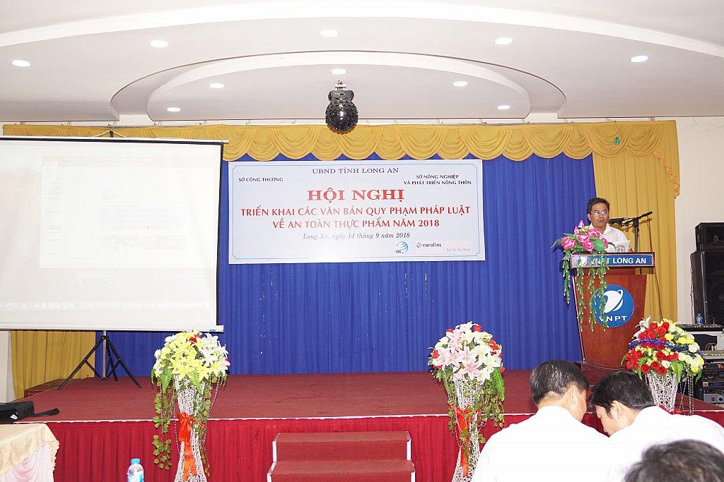 hội nghị quản lý an toàn thực phẩm