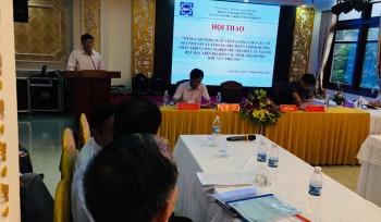 Anh 1 - Ông Hoàng Chính Nghĩa-Cục phó Cục Công Thương địa phương Tỉnh Nam Định phát biểu khai mạc hội thảo