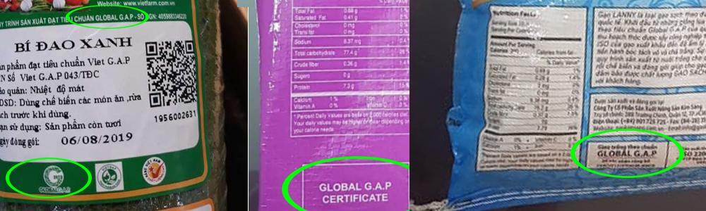 su dung logo globalgap sai